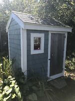 Need small garden shed built ! (And delivered)