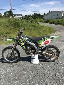 2006 Kawasaki kx450f with papers unreal condition