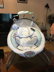 Fisher Price My Little Lamb Deluxe Bouncer