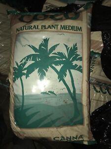 Canna Coco  growth medium. Soil. mix. Grow.  Garden.