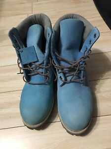 Timberlands Baby blue boots