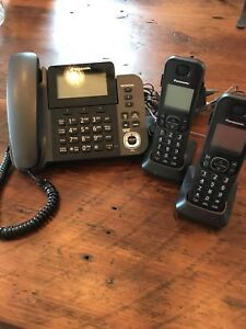 Panasonic 3 piece phone system