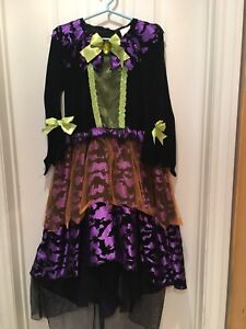 Witch Halloween costume.