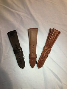 Men's 22mm Watch straps assorted