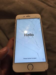 iPhone 6s 32g screen cracked