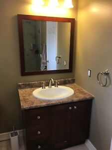 Bathroom Vanity / Mirror / Light