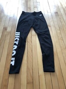 Nike just do it cotton leggings size S