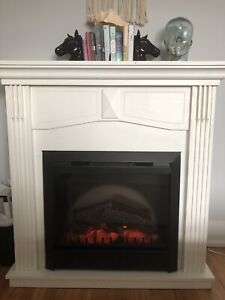 Electric Fireplace- working condition