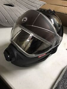 Ski Doo BV2S modular helmet with heated shield