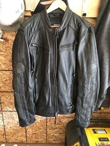 Harley Davidson men's leather motorcycle jacket