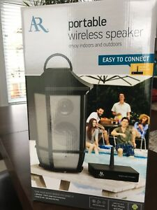 Wireless speaker, brand new, for outdoors and indoors