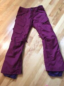 Burton Women/Girls Size XS Junior Ski Snow Pants