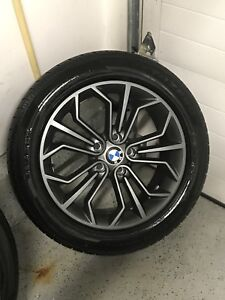 Bmw winter tires and rims