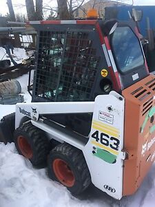 2002 bobcat 463 (668 hrs) 3 attach included