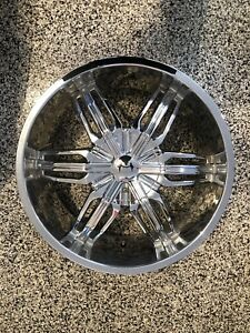 4 Mazzi Rush 20x8.5 chrome rims