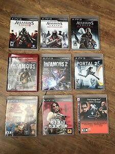 PS3 Games - $5 Each (REDUCED!)