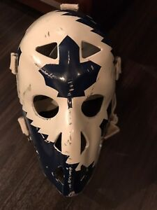 MIKE PALMATEER VINTAGE FULL SIZE REPLICA GOALIE MASK