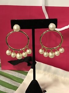 Authentic Kate Spade earrings - new