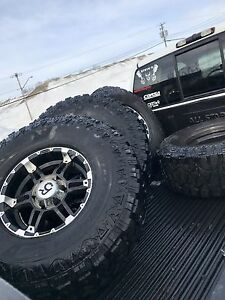 """35"""" tire whit 16"""" mag"""