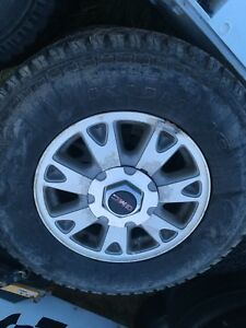 235/75-15 tires and rims off gmc jimmy