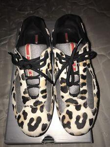 Prada Sneakers Cheetah print size 10