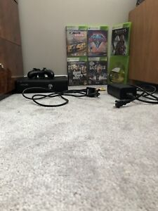 Xbox 360 and 6 xbox 360 games