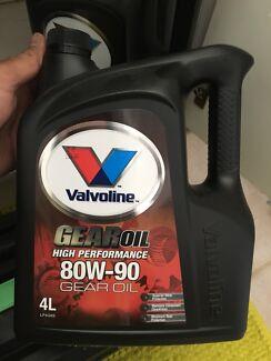 80W - 90 Gear oil