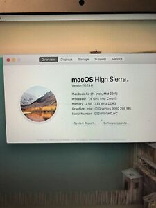 """MacBook Air 11"""" (Mid 2011) great shape, brand new charger"""