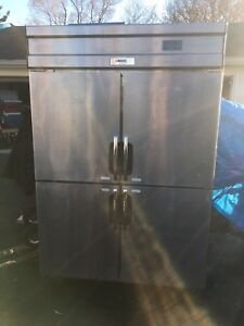 Commercial Fridge/Freezer 4 Doors