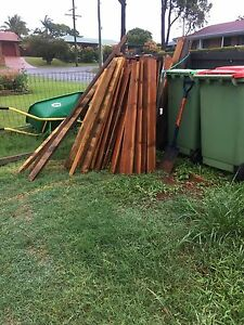 Free - fence palings, gate and some rails Cleveland Redland Area Preview