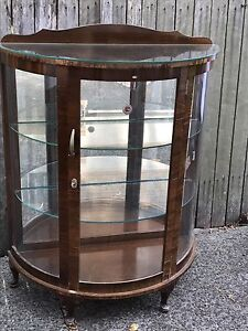 Antique Glass Cabinet Drummoyne Canada Bay Area Preview