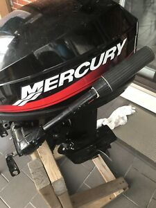 Mercury 15HP 2 temps pied court
