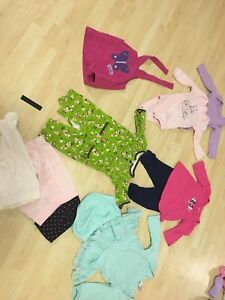 Lot of baby girl clothes 0-3 m