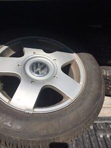 4 all season tire and rim penu & mag 195/65R15 6Jx15 ET38 5x100