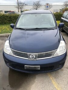 Nissan Versa With Very Low Km!!  No Accidents