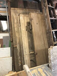 Antique barn doors