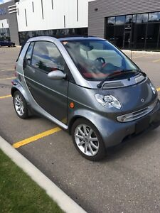 2006 Smart car diesel convertible with only 43,700 km