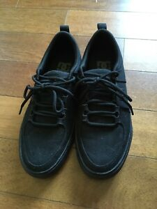 Like new men's size 7 DC black casual shoes