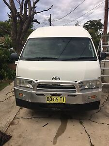 Toyota hiace slwb automatic 2006 model petrol Strathfield South Strathfield Area Preview