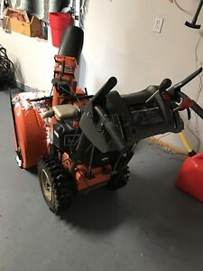 Husqvarna Snowblower Reduced