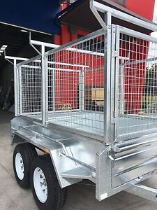 8x5 9x5 10x5 10x6 12x6 HEAVY DUTY TANDEM TRAILERS Narangba Caboolture Area Preview