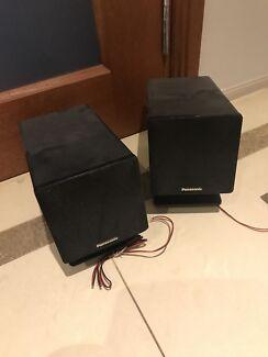 Panasonic speakers $10