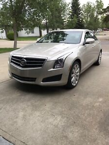 2013 Cadillac ATS all wheel drive.