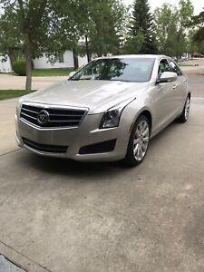 2013 Cadillac ATS all wheel drive.