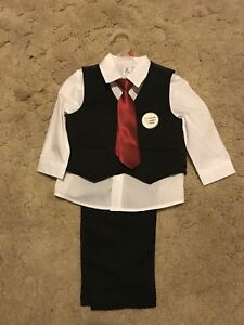 4piece toddlers dress clothes