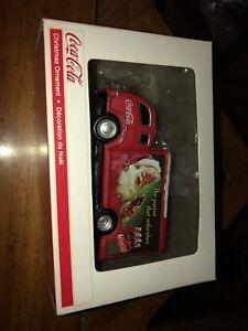 Ornement Coca cola de Noël