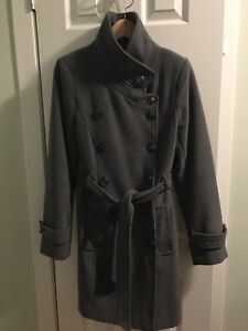 Beautiful charcoal Le Chateau winter coat