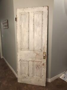 100 Year Old Farm Door