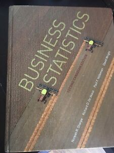Business Statistics 2nd Canadian edition