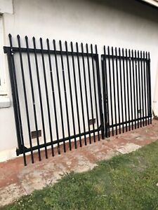 Heavy Duty Double Gates - Garrison Security (CAN DELIVER)